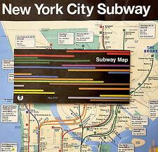 Official New York City MTA NYC Subway Map May 2019 THE MAP  NEW VERSION