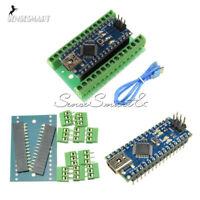 ATmega328 CH340G Nano V3.0 5V/16MHz Terminal Adapter Sheild Board for Arduino