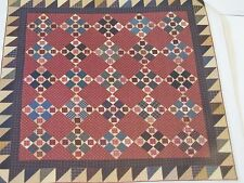 Plaid Tidings Foundation Paper Piecing Quilt Pattern from Magazine