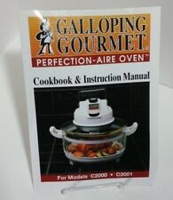 Galloping gourmet perfection-aire oven cookbook & instruction.