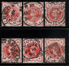 GREAT BRITAIN 1887 - 1892  Queen Victoria Jubilee Stamps for Postmarks Collector