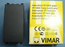 VIMAR 20001 Eikon grigio scuro antracite Interruttore 1P 16AX switch 1 way