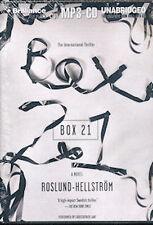 Audio book - Box 21 by Anders Roslund & Börge Hellström   -   MP3-CD