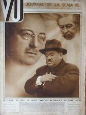 VU N°86 (6 nov 1929) La mort d'un congrès  Expédition à la terre François Joseph