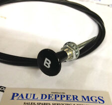 MG MGB Bonnet Release Cable Round Shape (AHH6426B)