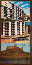 FUENGIROLA SPAIN 3 Postcards HOTEL LAS PIRAMIDES CASTLE PALACE