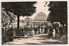 Carte postale semi ancienne animée VICHY Le Casino Auvergne Allier cpsa