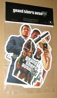 GTA V 5 Grand Theft Auto Promo Sticker Set very Rare New The Characters of GTA V