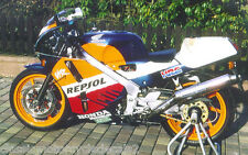 HONDA VFR400R NC30 REPSOL DECAL SET