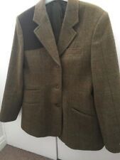 Ladies Tweed Jacket Size 12 , Oxford Blue