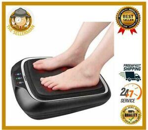 Power Legs Vibration Plate Foot Massager Platform with Rotating Acupressure Head
