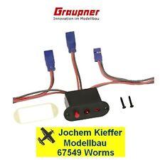 Graupner Emcotec el. Ein / Aus-Schalter für RC-Anlagen Nr. 3006.S NEU OVP !