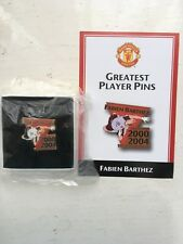 DANBURY Comme neuf Manchester Man United FC plus grand joueur PINS-Fabien Barthez