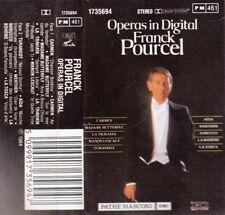 """K 7 AUDIO  (TAPE) FRANCK POURCEL  """"OPERAS IN DIGITAL"""""""