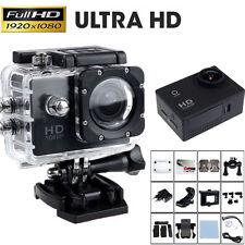 12MP Full HD 1080P Helmet Sports Action 30M Waterproof Car Mini Camera Cam UK