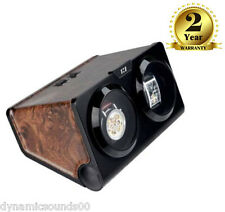 KA002 Dual Twin Double Watch Winder For Winding 2 Automatic