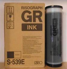 Riso Tinte S-539E Risograph  GR Ink black GR 1700 1750 2700 2710 2750 1 stk. OVP
