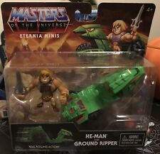 """Masters of the Universe Eternia Minis 3"""" He-Man and Ground Ripper Action Figure"""