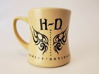 HARLEY DAVIDSON HD Coffee Mug ENGRAVED TRIBAL Licensed