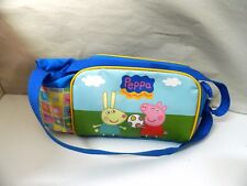 Borsa Tracolla Pic nic Peppa Pig Bambina Rosa 33x15 Ta4