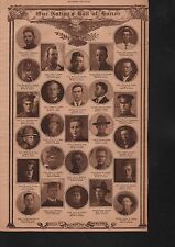 World War I Roll of Honor 1919 Deaths of Heros WWI #81