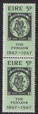 EIRE IRELAND 1967 THE FENIANS CENTENARY MNH 5P STAMP X 2