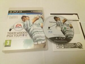 Tiger Woods PGA 12 Collectors Edition - UK Sony PS3 Move Features Golf Game Mint