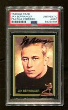 Jay Berwanger Signed 1991 Heisman Collection #1 Autographed Chicago PSA/DNA *701