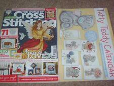 NEW World of Cross Stitching Magazine 286 November 2019 + Tatty Teddy Calendar