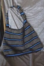 Old Papua New Guinea Traditional Bilum Bag …pure wool and wonderful colour