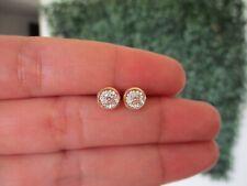.13 CTW Diamond Earrings 18k Twotone Gold E386R sep
