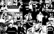 "Eminem ""Black Light"" Collage Poster"