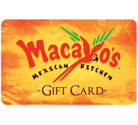 Macayo's Mexican Kitchen Gift Card - $25, $50 or $100  Fast Email delivery