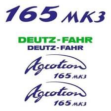 Deutz-Fahr Agrotron 165 MK3 tractor decal aufkleber sticker