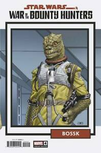 Star Wars War of Bounty Hunters #4 1:25 Variant - Bagged & Boarded