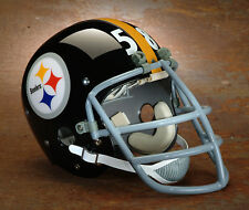 Pittsburgh Steelers style NFL Vintage Football Helmet - JACK LAMBERT 1974-1976