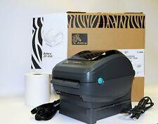 IN STOCK & READY TO SHIP - Zebra ZP450 Direct Thermal Label Printer NEW w Labels