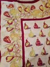 Coleur Nature Bruno Lamy 71x 106 Rectangular  Handmade French Cotton Tablecloth