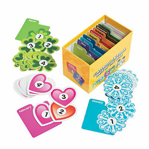 Classroom Calendar Days Of The Year - Educational - 400 Pieces