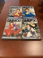 Gimmick! Volumes 2-5 Kuroko Yabuguichi English Manga Viz FREE SHIPPING