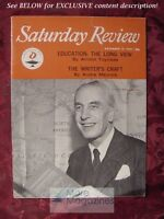 Saturday Review November 19 1960 ARNOLD TOYNBEE ANDRE MAUROIS WALLACE FOWLIE