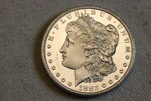 1882-CC Deep Mirror proof like Morgan Silver dollar