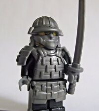 Lego Custom SHOGUN SAMURAI WARRIOR with Custom Armor and Weapons