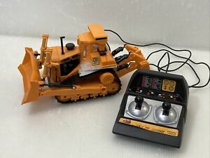 "New Bright The Cat D9L R/C Bulldozer Caterpillar 1988 10.5"""