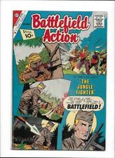 """Battlefield Action #39 [1961 Vg-Fn] """"The Jungle Fighter"""""""