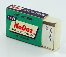 SEALED VINTAGE NEW OLD STOCK! NoDoz 15 Tablets from the 70's! FREE SHIPPING!