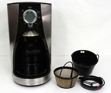 Mr Coffee BVMC-LMX37 12 Cup Programmable Coffeemaker Stainless Steel