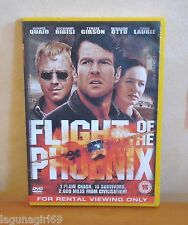 Flight of the Phoenix DVD Action Adventure Film Dennis Quaid PAL Region 2