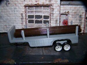 Hot Wheels/Matchbox logging trailer