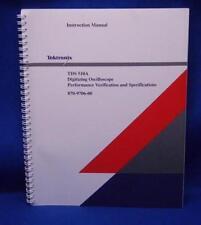Tektronix TDS 510 Oscilloscope Instruction Manual